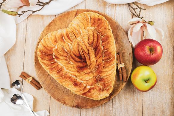 protein apfelpudding kuchen mit zimt