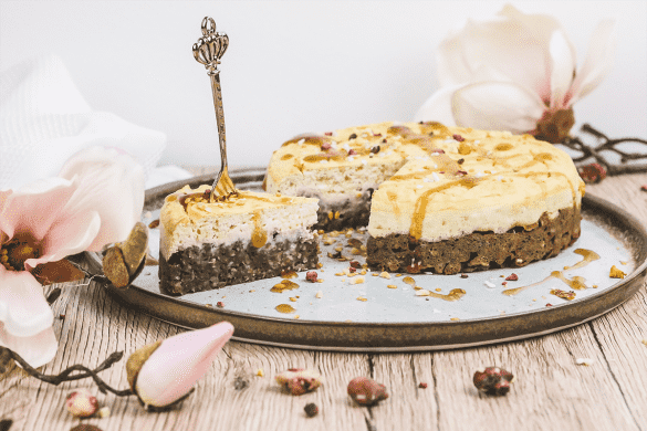 protein schoko brownie cheesecake